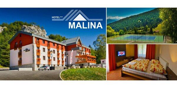 Slovensko: Relax v horském Hotelu Malina***