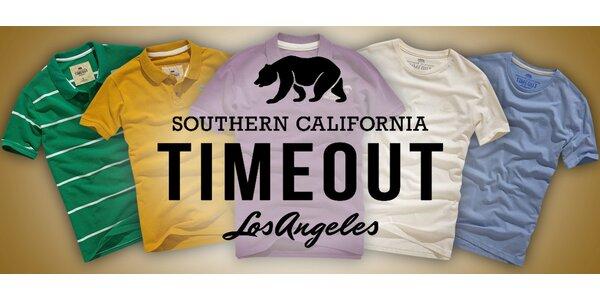 Pánská bavlněná trička Timeout