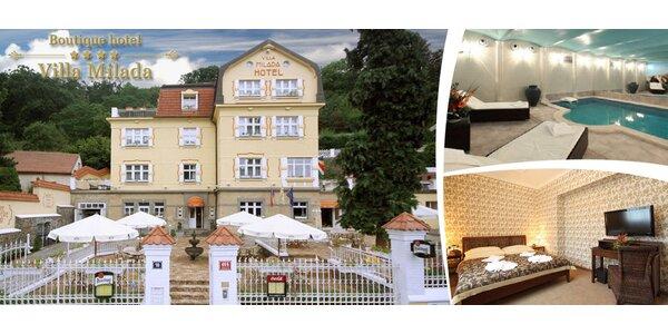 Odpočinek s wellness v Boutique Hotel Villa Milada****