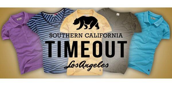 Pohodová dámská trička a pola Timeout