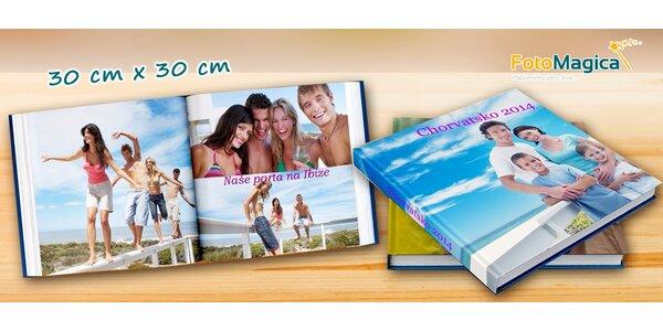 Fotokniha s vašimi obrázky v pevných deskách