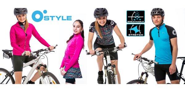 Cyklistická trička a šortky O'Style pro celou rodinu
