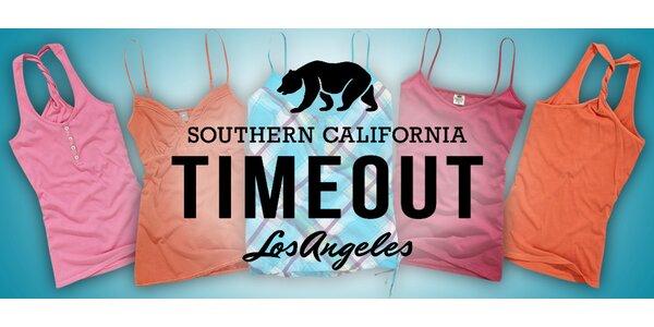 Dámská tílka Timeout pro pohodové léto