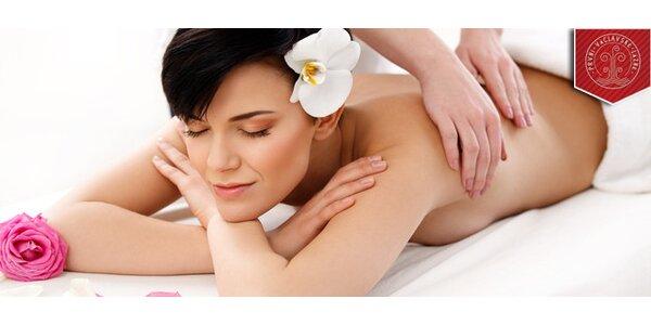 Thajská olejová masáž v délce 90 minut