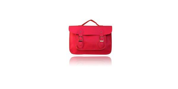 Dámská růžová aktovka London Fashion