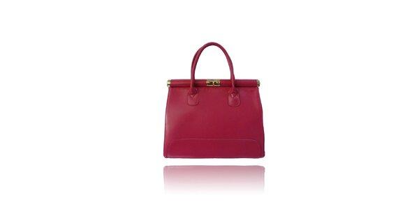 Dámská růžová kabelka London Fashion