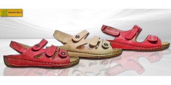 Pohodlné letní sandále Koka