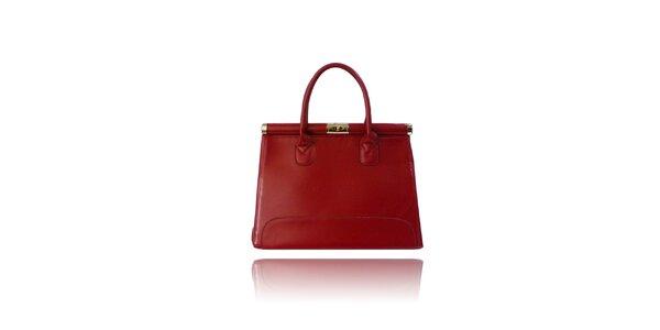 Dámská červená kabelka London Fashion