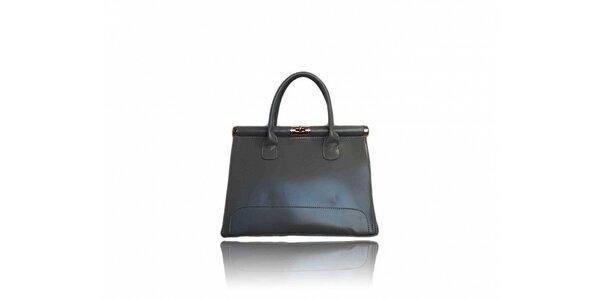 Dámská tmavě šedá kabelka London Fashion