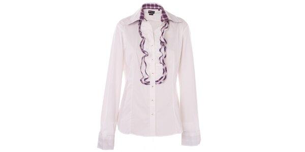 Dámská bílá košile 7camicie s fižím