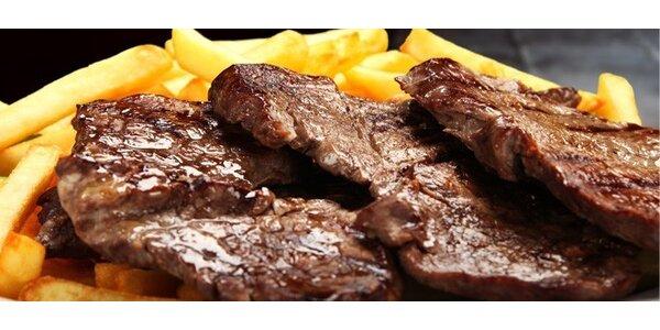 Znamenitý mix grill pro dva v restaurantu U Žebeerka
