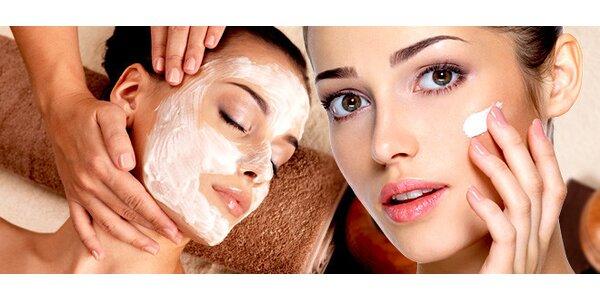 Kompletní kosmetické ošetření pleti v délce 90 minut