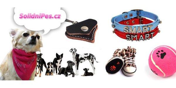 199 Kč za zboží pro psy a kočky v hodnotě 400 Kč v e-shopu Solidní pes!
