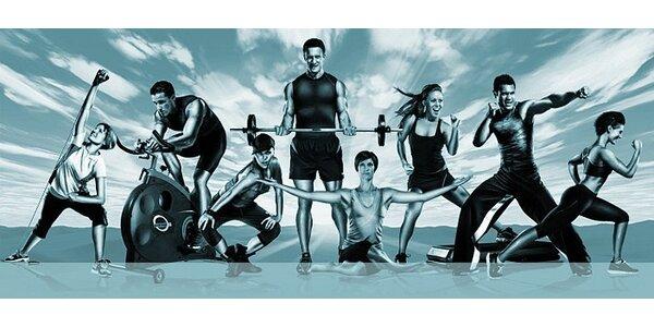 4 časově neomezené vstupy do fitness PZ-gym