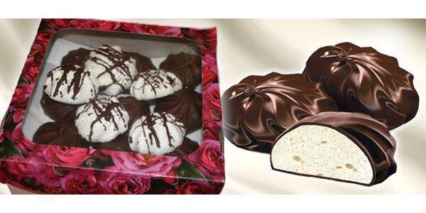 Zeffir v čokoládě a Zeffir kokosový mix