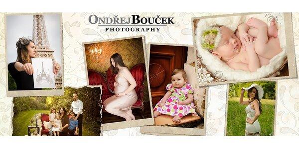 Stylové focení ve fotostudiu Ondřej Bouček Photography + zarámovaný obraz
