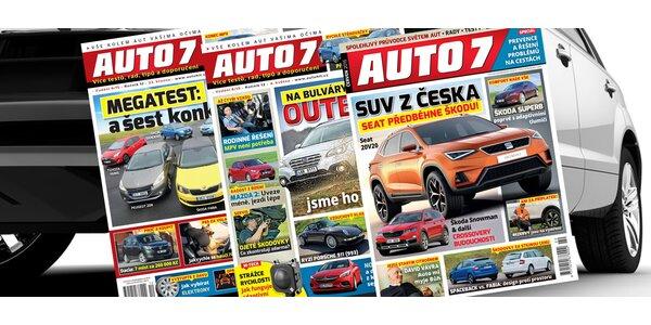 Roční předplatné časopisu AUTO7+ SONAX