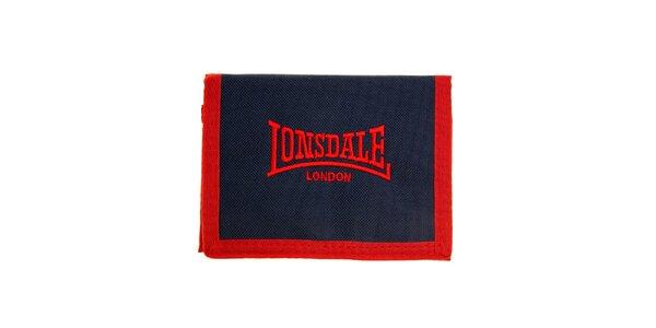 Pánská červeno-modrá peněženka Lonsdale