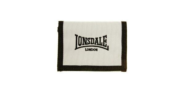 Pánská černo-bílá peněženka Lonsdale