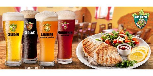 Masové hody a degustace piv