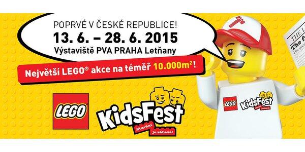 Vstupenky na unikátní LEGO® KidsFest Praha!