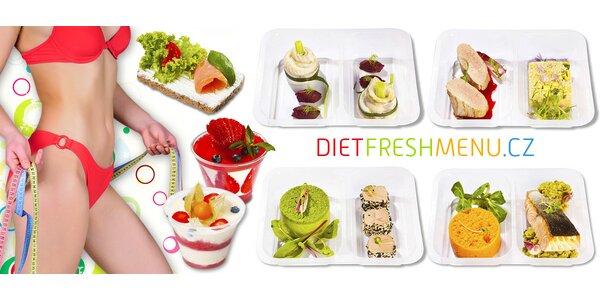 5 či 10 dní krabičkové diety DietFreshMenu pro ženy i muže