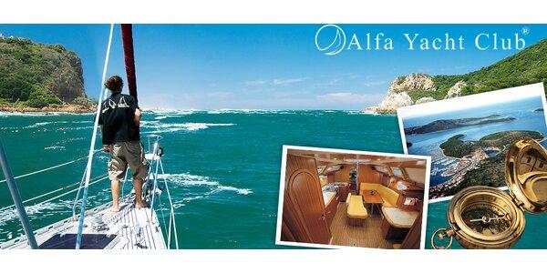 Týden na jachtě na Jadranu s možností kapitánských zkoušek