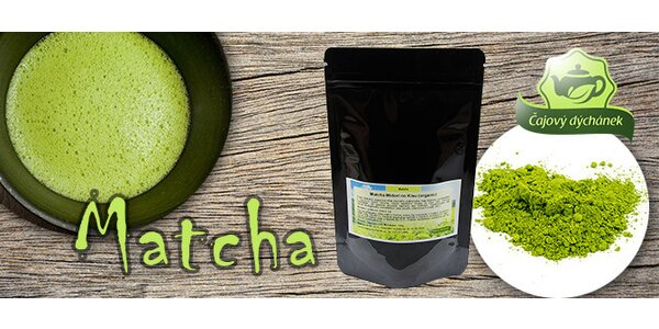 Zelený čaj Matcha Midori no Kisu (organic)