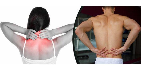 3x lekce SM cvičení - novinka pro stabilizaci páteře