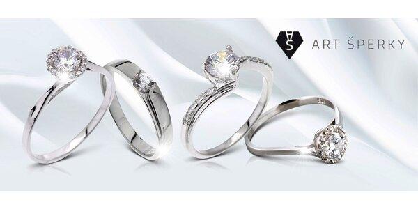 Výprodej: Stříbrné prsteny se zirkony