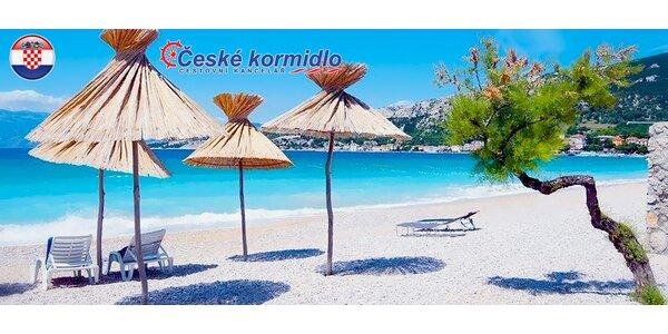 Jednodenní koupání na chorvatském ostrově Krk