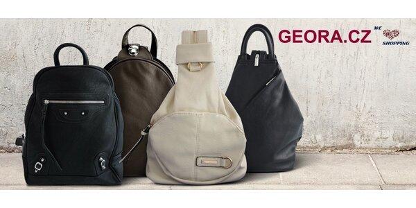 Elegantní dámské batohy do města