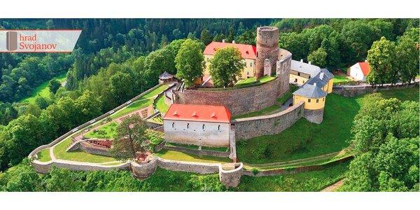 3 dny v historických komnatách hradu Svojanov