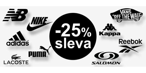25% sleva na veškerou obuv z Čechsport.cz