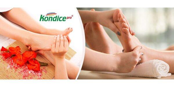 Reflexní masáž plosky nohy