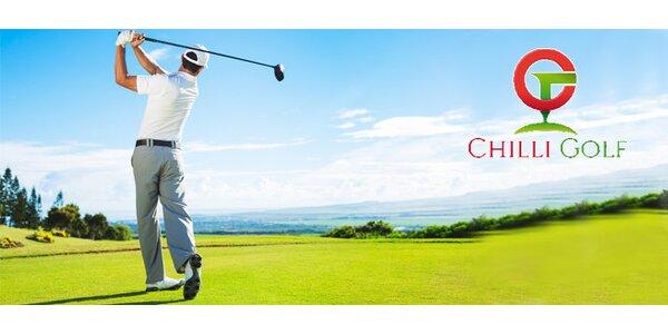 Úvodní golfová lekce s Chilli Golf Academy pro 2 osoby