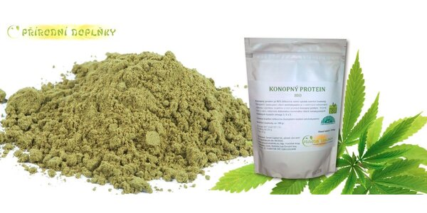 Konopný protein Bio Raw 500g