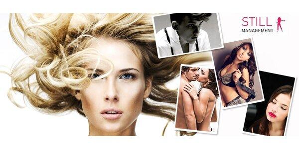 Focení pro páry i jednotlivce včetně profi stylingu