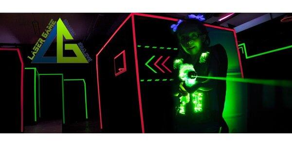 Akční laser game až pro 10 hráčů