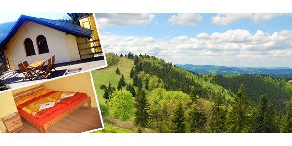 Týdenní rodinný letní pobyt v Krkonoších