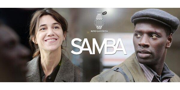 2 vstupenky na film Samba v kině Lucerna