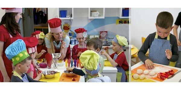 """Kurzy vaření s dětmi """"Kuchtíci v akci"""""""