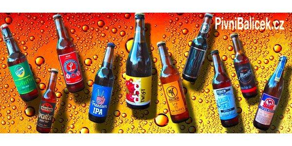 Balíček pivních speciálů z minipivovarů