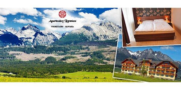 Vysoké Tatry na 4 nebo 7 dní pro DVA a 1 dítě