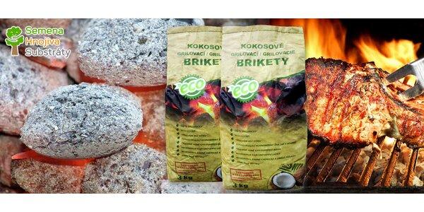 Prvotřídní kokosové brikety na grilování