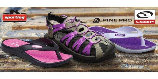 Dámské sandály, pantofle a žabky
