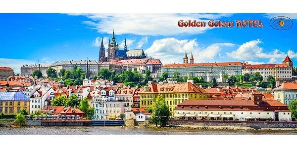 2 - 3denní pobyt v hotelu Golden Golem***