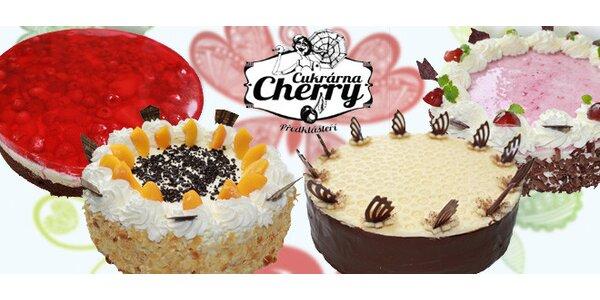 Lahodné domácí dorty z Cukrárny Cherry