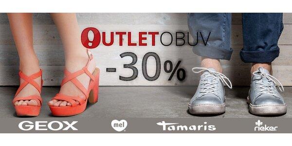 30% sleva na jakékoli zboží na Outlet-Obuv.cz