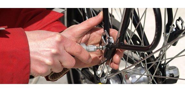 Profesionální seřízení jízdního kola